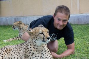 Cheetah park - cheetah and me
