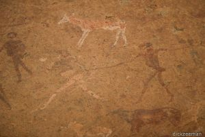 Brandberg - San rock drawings-1