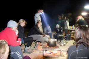 Spitzkoppe - Cooking