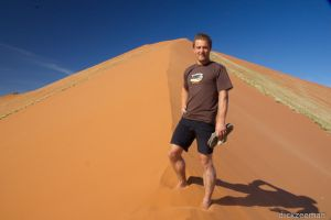 Sossusvlei - Me on dune