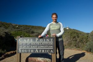 Cape Point - Sign & me